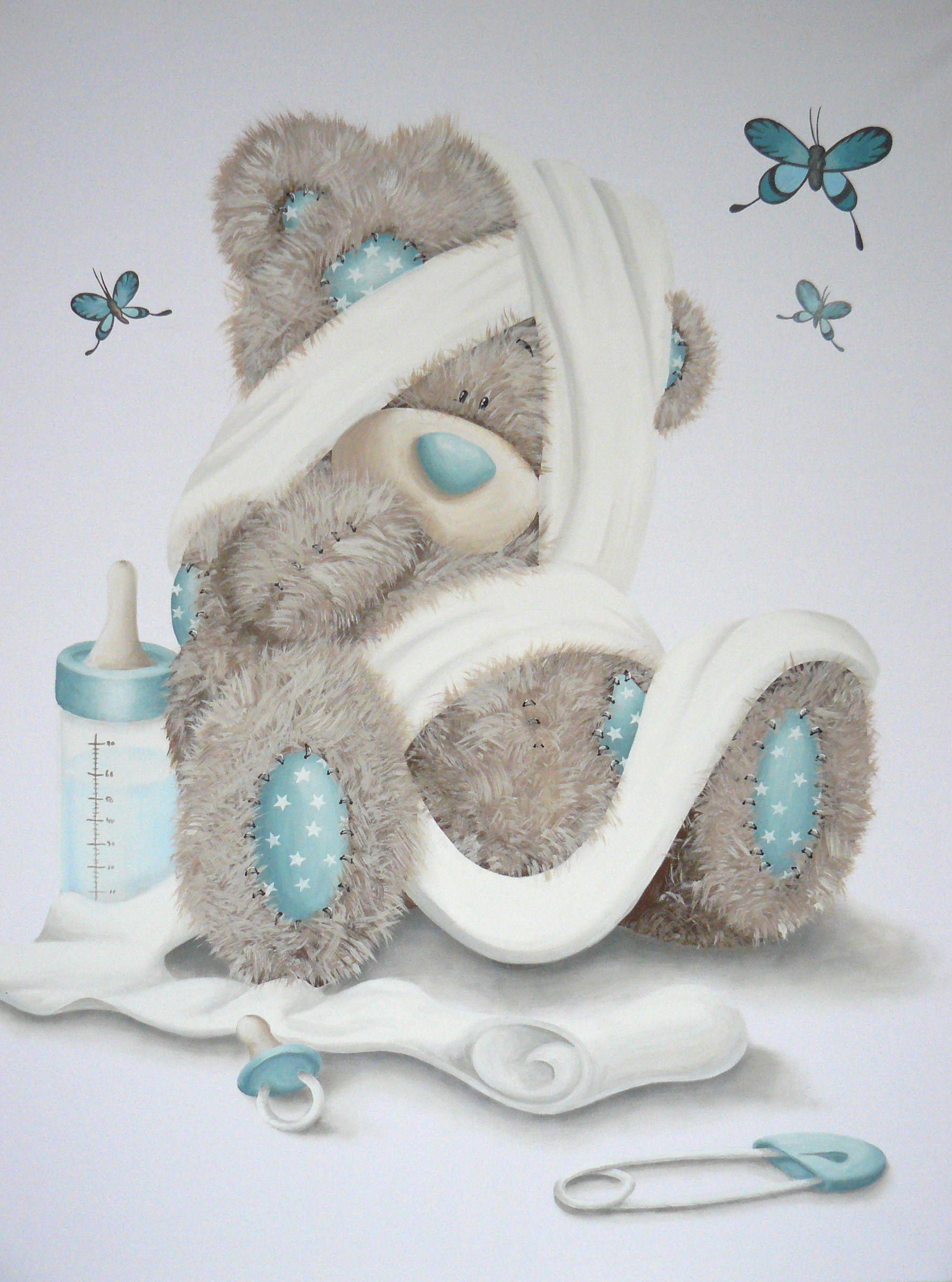Pin von claudia paloda auf baby kinderzimmer baby und baby basteln - Wandmalerei ideen ...