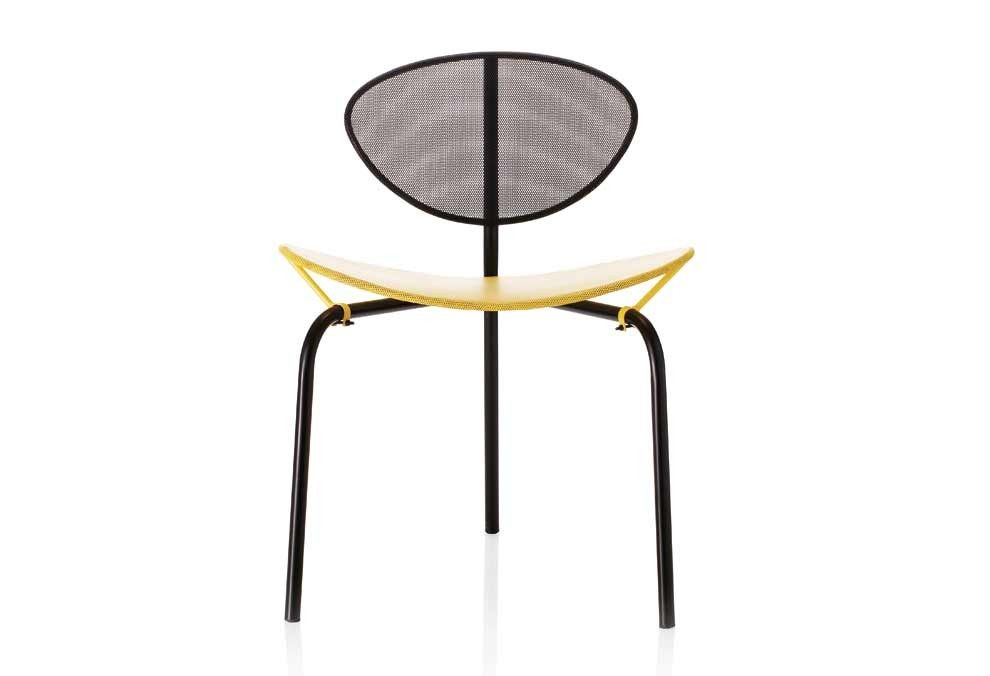 Chaise Nagasaki Mategot Matégot, Mathieu  Années 50 design Gubi