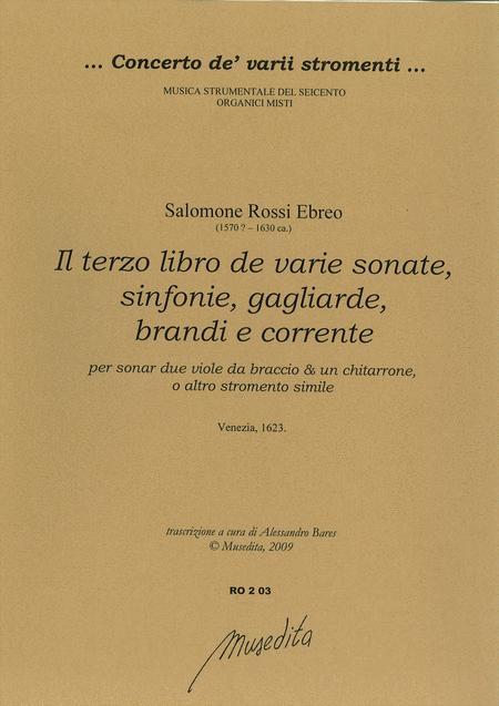 Il terzo libro de varie sonate, sinfonie (Venezia, 1623)