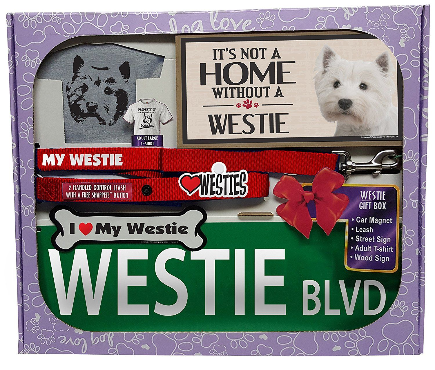 Imagine This Westie Lover Gift Box ** Read more at the