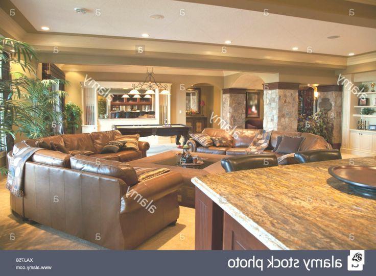 Photo of Lower Floor Recreational Room In Show Home; St. Albert, Alberta
