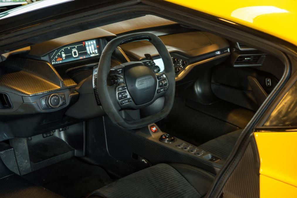 Ford Gt Norway Road Trip Interior