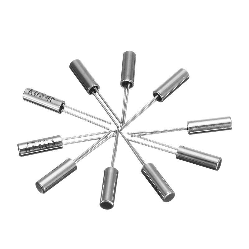 10 pcs 32.768KHz 32768HZ Crystal Oscillator 2 x 6 mm NEW  CA