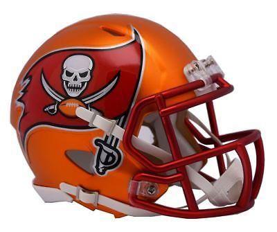 Nfl Tampa Bay Buccaneers Alternate Helmet Blaze Speed Mini Helmet Orange Football Helmets Mini Football Helmet Nfl Football Helmets