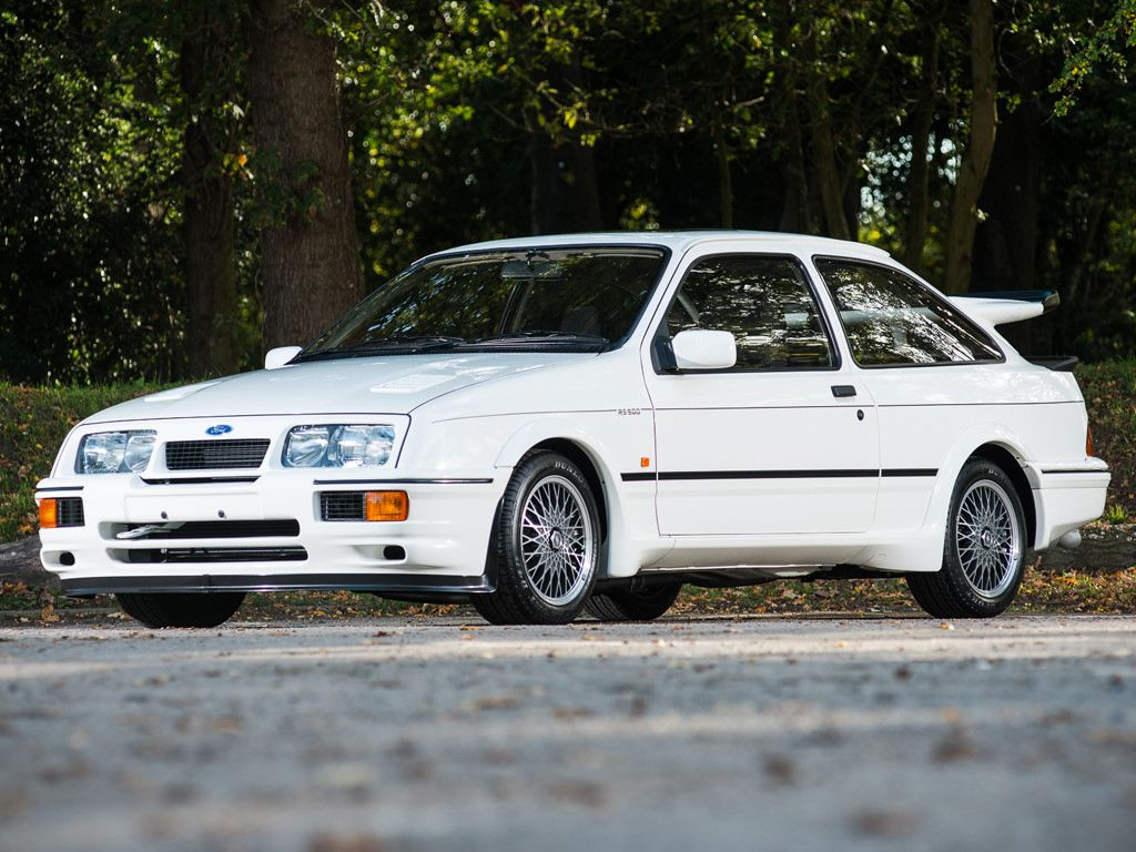 Ford 1987 Sierra Rs500 Cosworth 1 Of 500 1 Of 52 Diamond White 001 Ford Sierra Ford Explorer Ford Rs