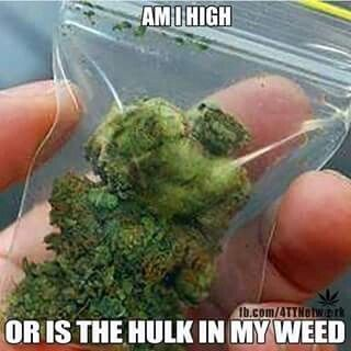 Am I High? Or There Is Hulk In My Weed From RedEyesOnline.net