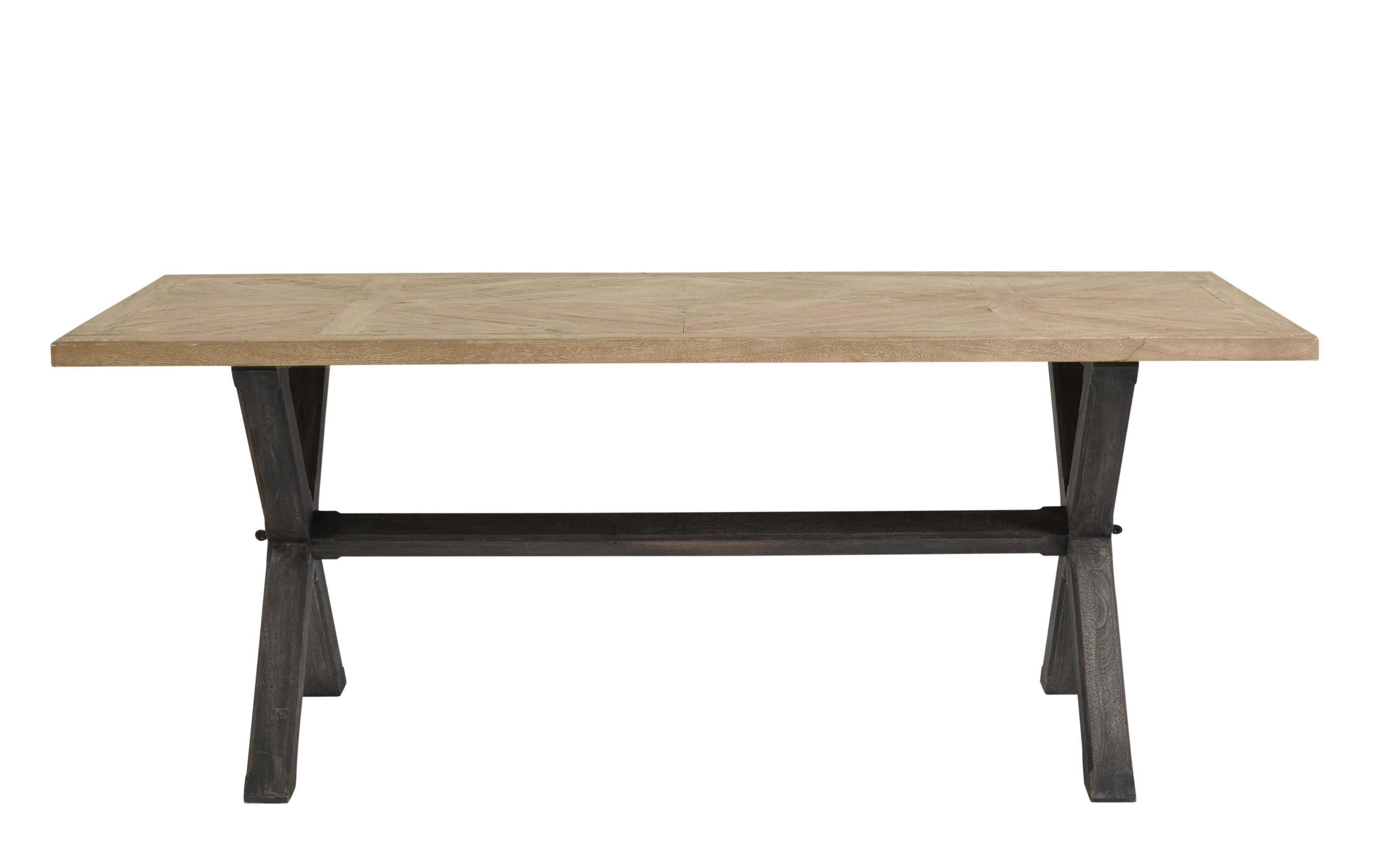Mango Wood Dining Table W 200cm Dining Room Mango Wood