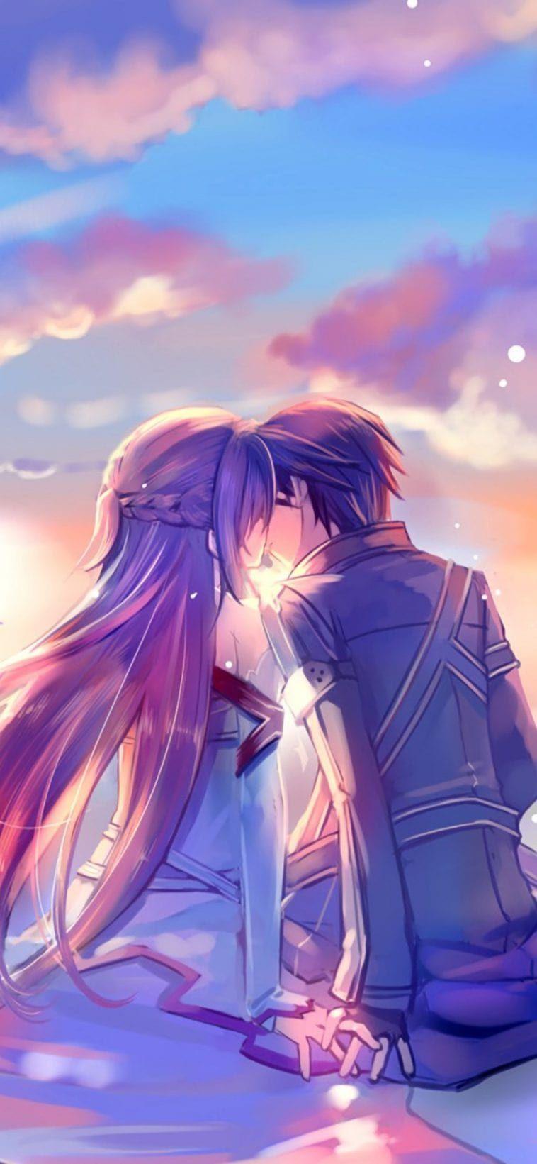 Iphone 11 Wallpaper Anime Couple 4k Hd Download Free Sword Art Online Wallpaper Anime Wallpaper Sword Art Online