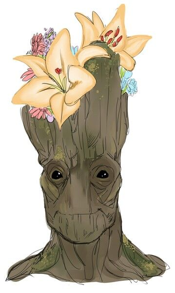 Cute groot guardians of the galaxy marvel pinterest for Timon de groot