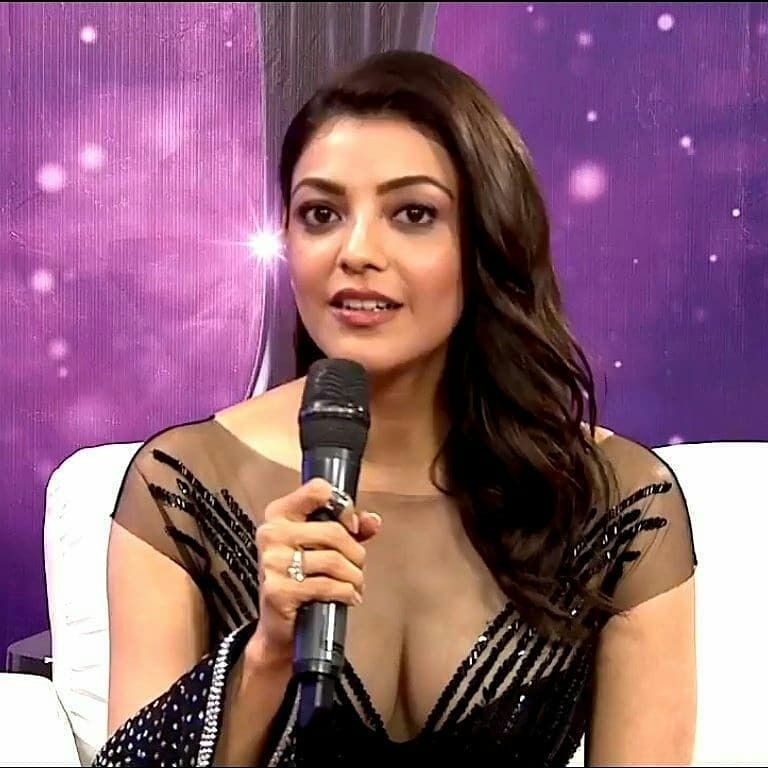Hot boobs kajal