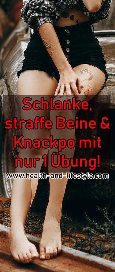 Schlanke, straffe Beine & Knackpo mit nur 1 Übung! – Health and Lifestyle