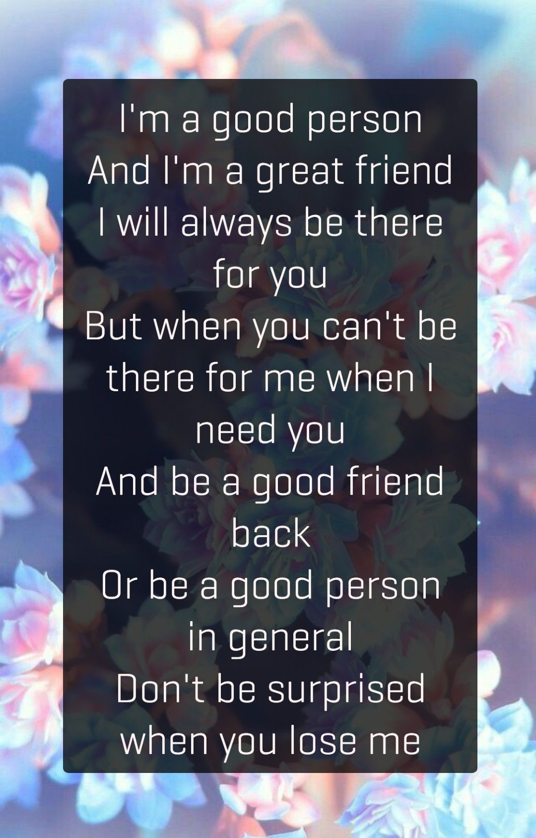 Good Person Good Friend Mean Friend Quotes Good Person Quotes Being Used Quotes