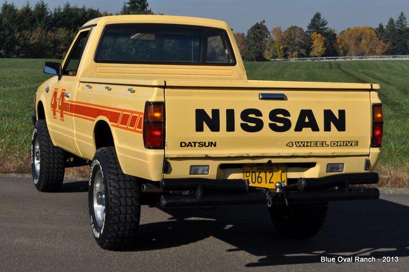 1983_Nissan_Datsun_4x4_Pickup_off_road | Nissan | Nissan ...