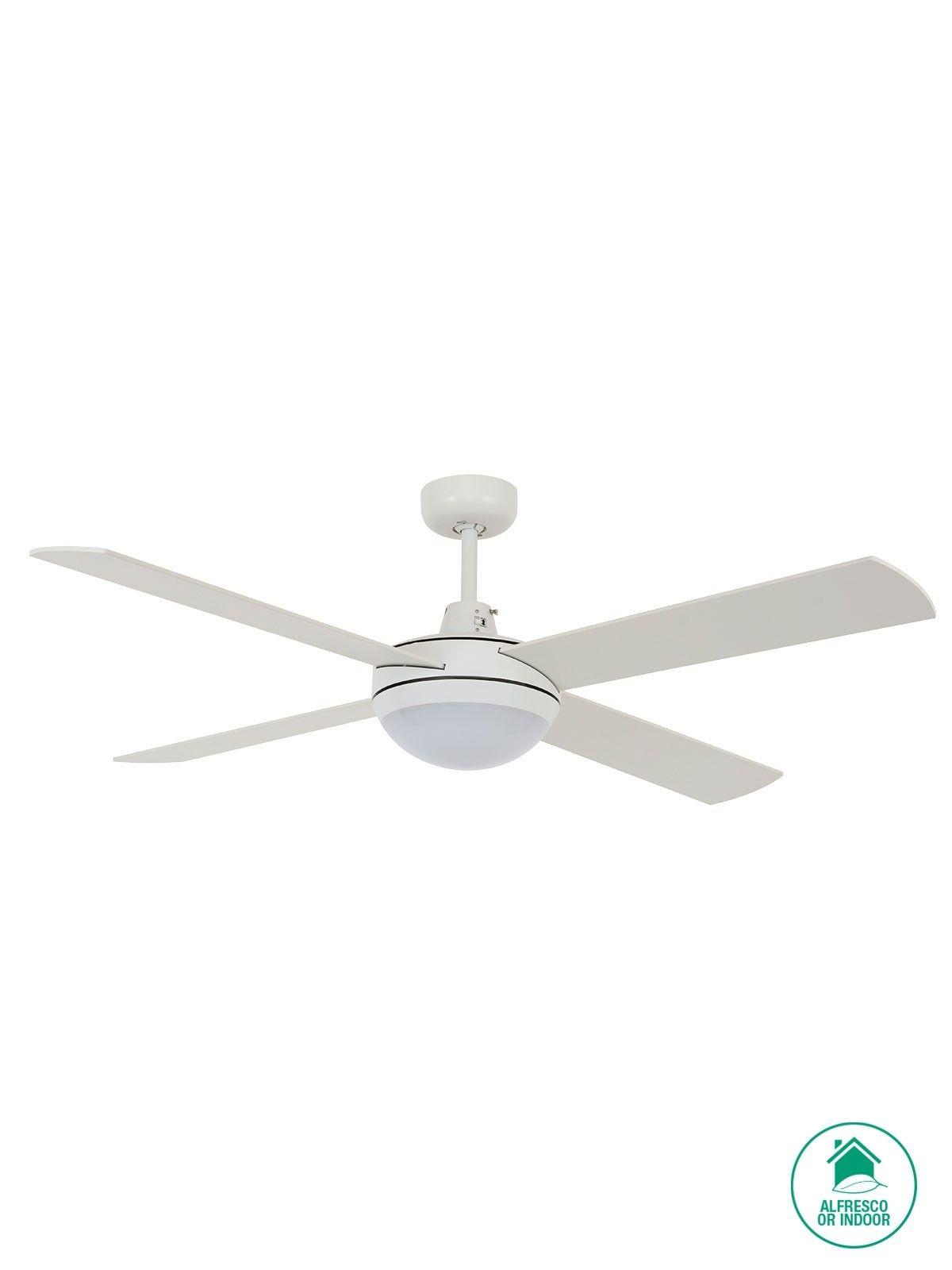 Futura mood 132cm fan and led light in white lighting pinterest futura mood 132cm fan and led light in white aloadofball Gallery