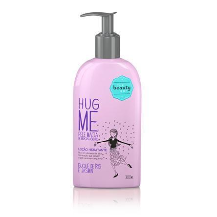 Loção Hidratante Hug Me Buquê de Íris e Jasmin 300ml Produtinhos da Beauty