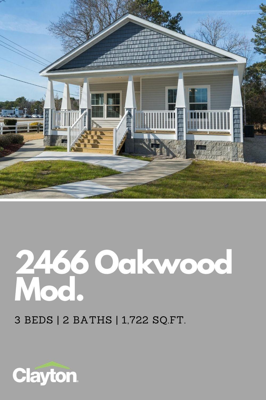2466 Oakwood Mod Virtual Tour Clayton Homes Modular Home Floor Plans Modular Homes