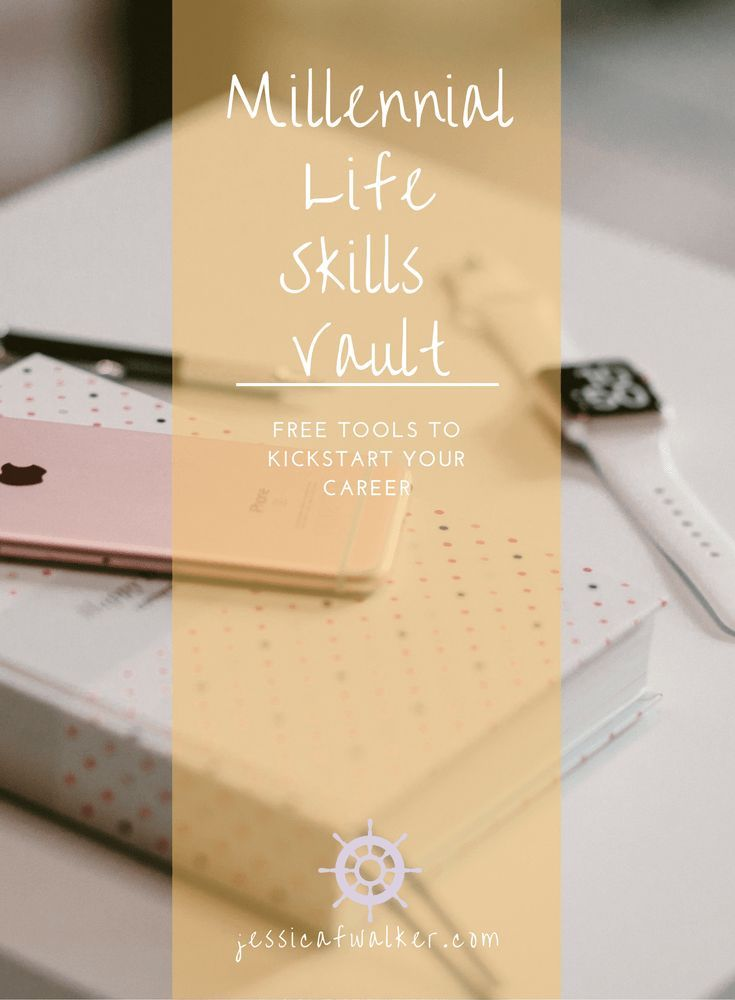 Sign Up for the Millennial Life Skills Vault Click through to - resume check