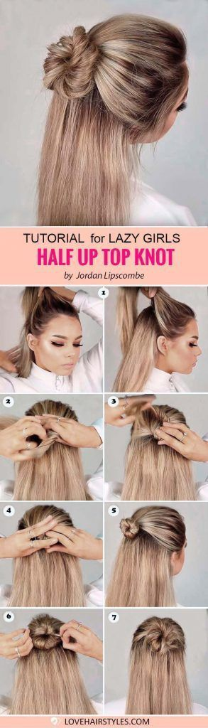 Quick And Easy Hairstyle For Girls Hairstyle Hairstyleideas Medium Hair Styles Easy Hairstyles Hair Styles