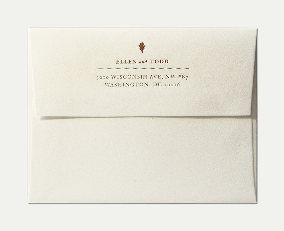 Wedding invitation with envelope wedding gallery pinterest wedding invitation envelope template printing with the simple design warm autumnal invitation design for an october wedding stopboris Images