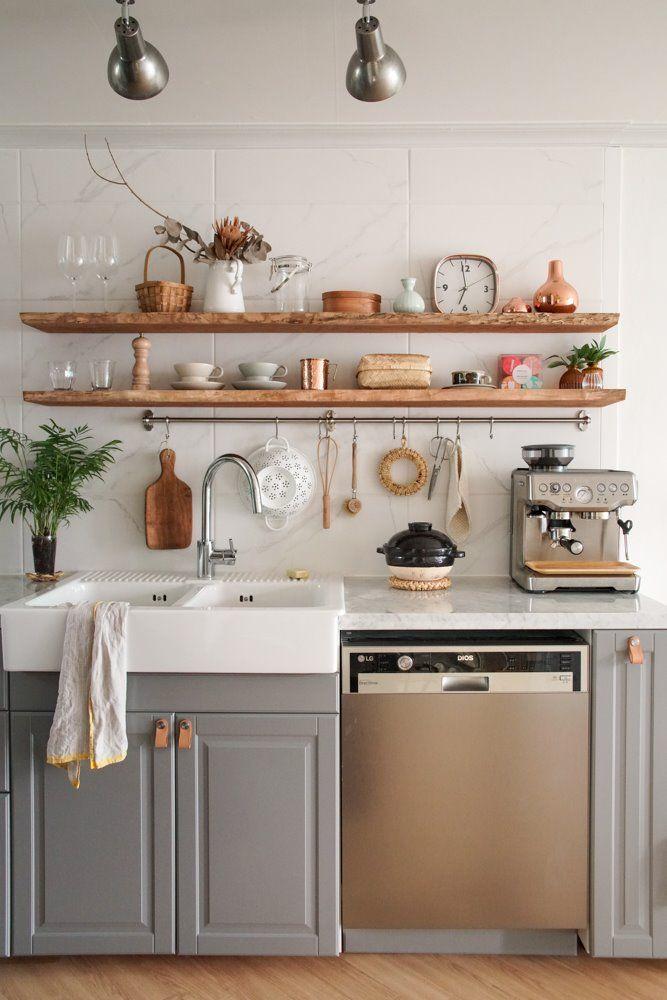 신혼집 인테리어 영화에 나올 법한 주방인테리어 요리하는 아내의 주방 네이버 포스트 부엌 인테리어 디자인 부엌리모델링 모던 부엌 디자인
