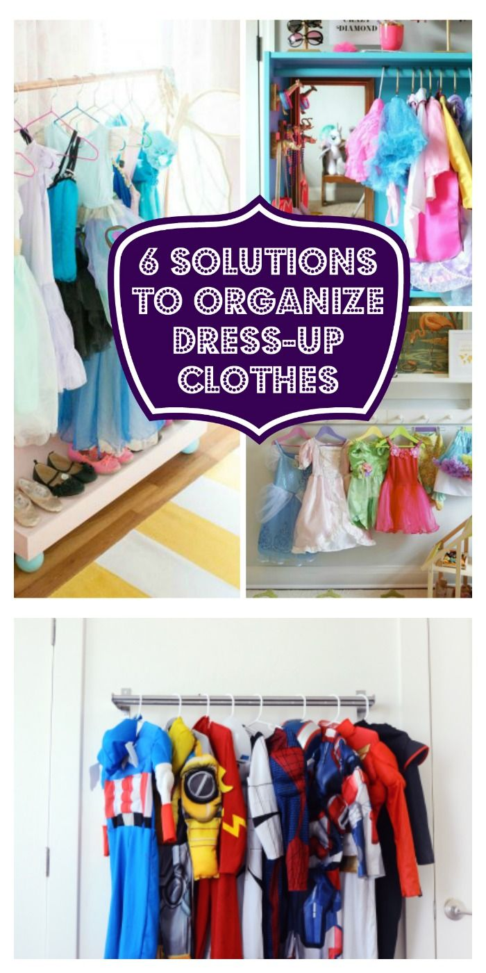 Clothes Dress-up organizing solutions