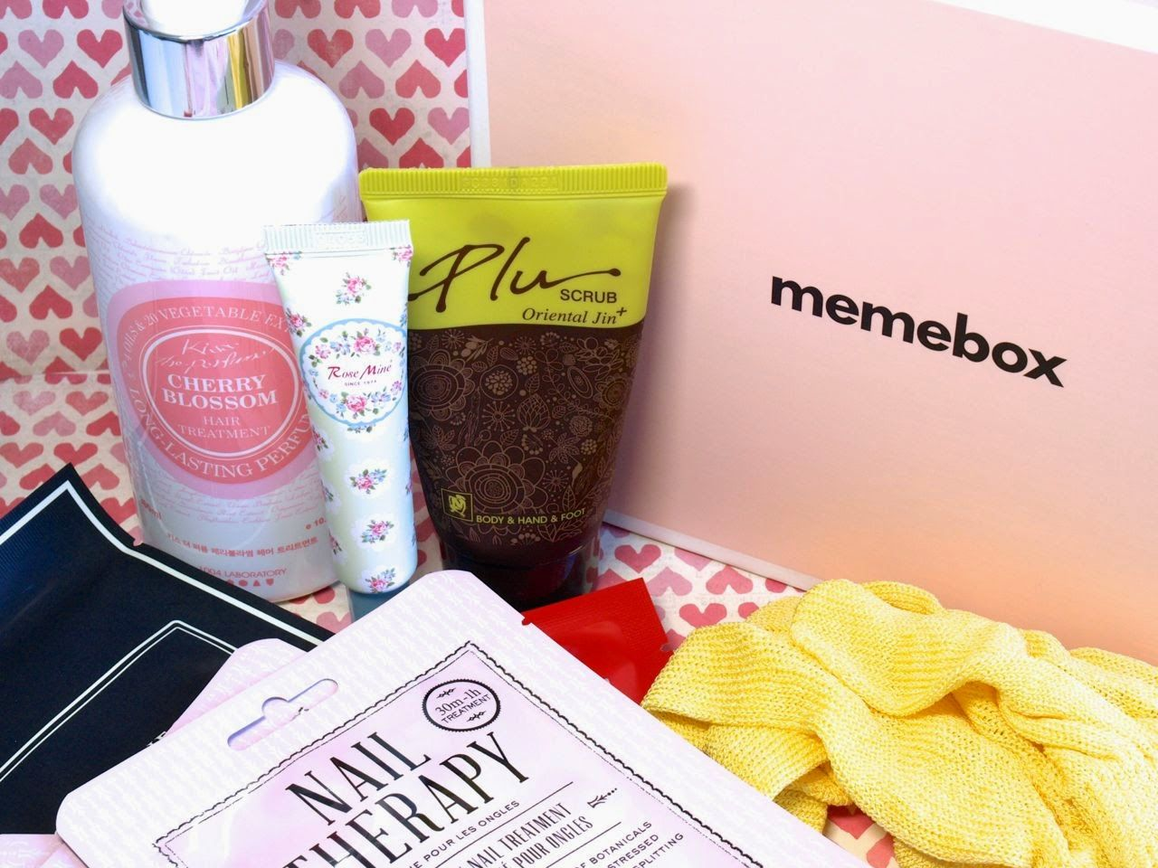 Memebox Hair & Body Special Edition: Unboxing and Review