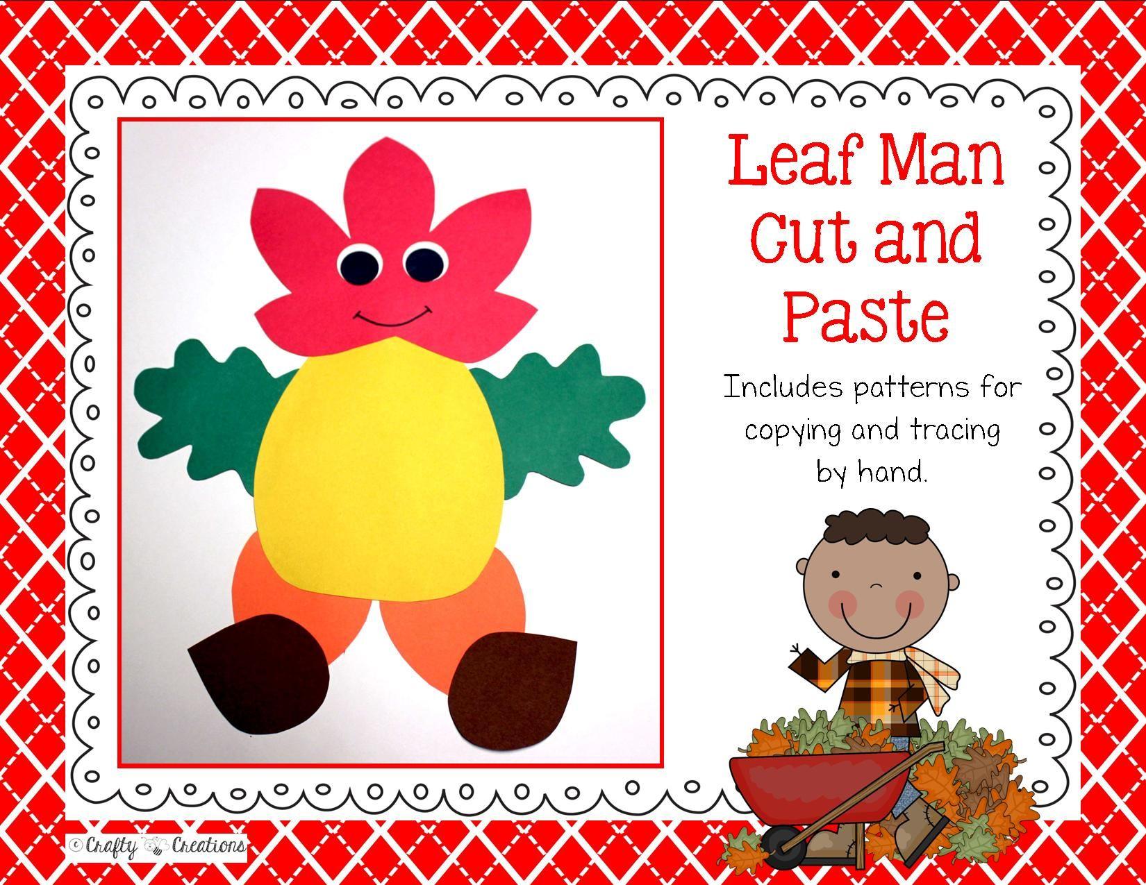 Preschool Worksheets Tracing Fall Leaves