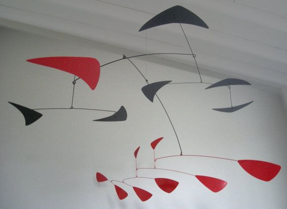 Andromeda mobile large metal Calder-style by MODmobilesstore
