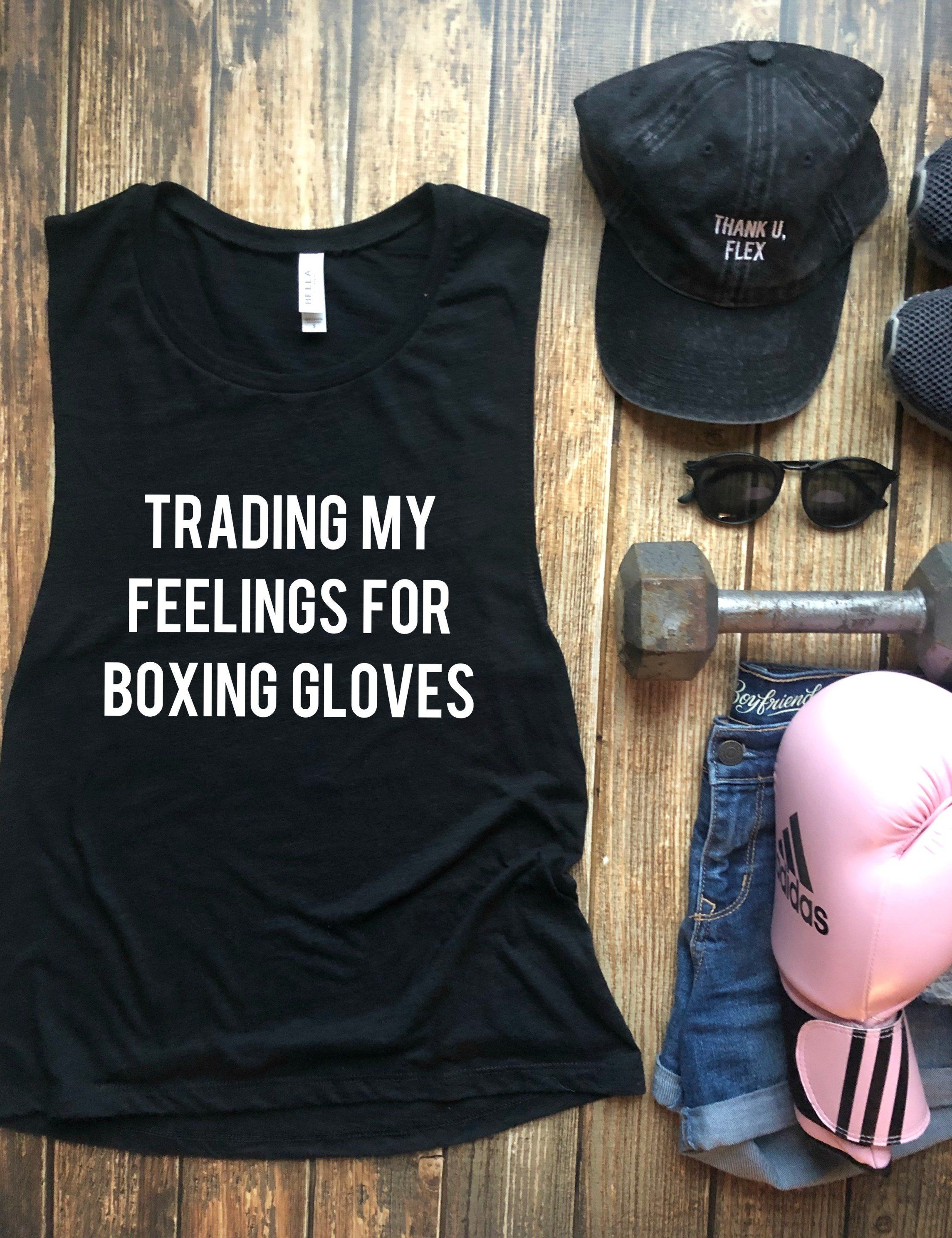 Boxing Gloves are a Girl/'s Best Friend Boxing Shirts Women Boxing Crop Top Boxing Tank Top Kickboxing Shirts