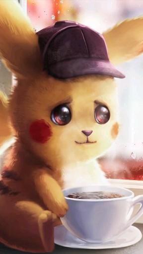   Save & Follow   Detective Pikachu • Live Wallpaper • Pokémon