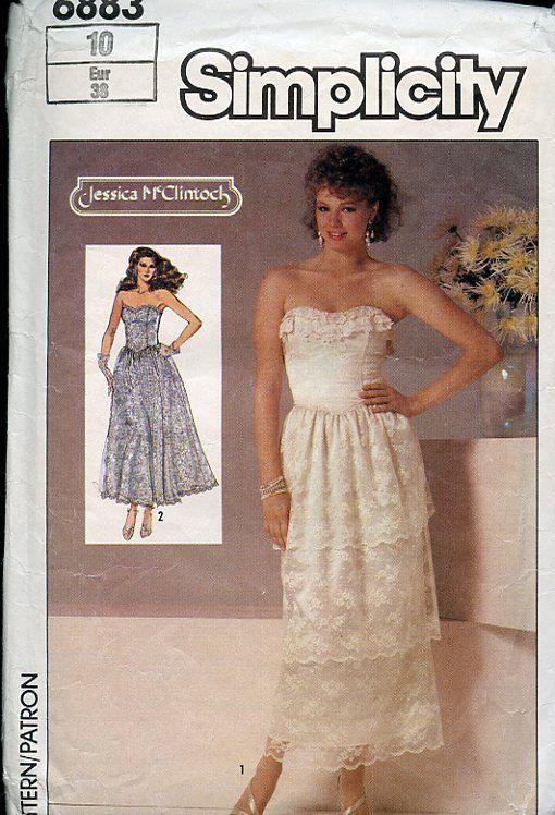 Designer wedding dress patterns sewing