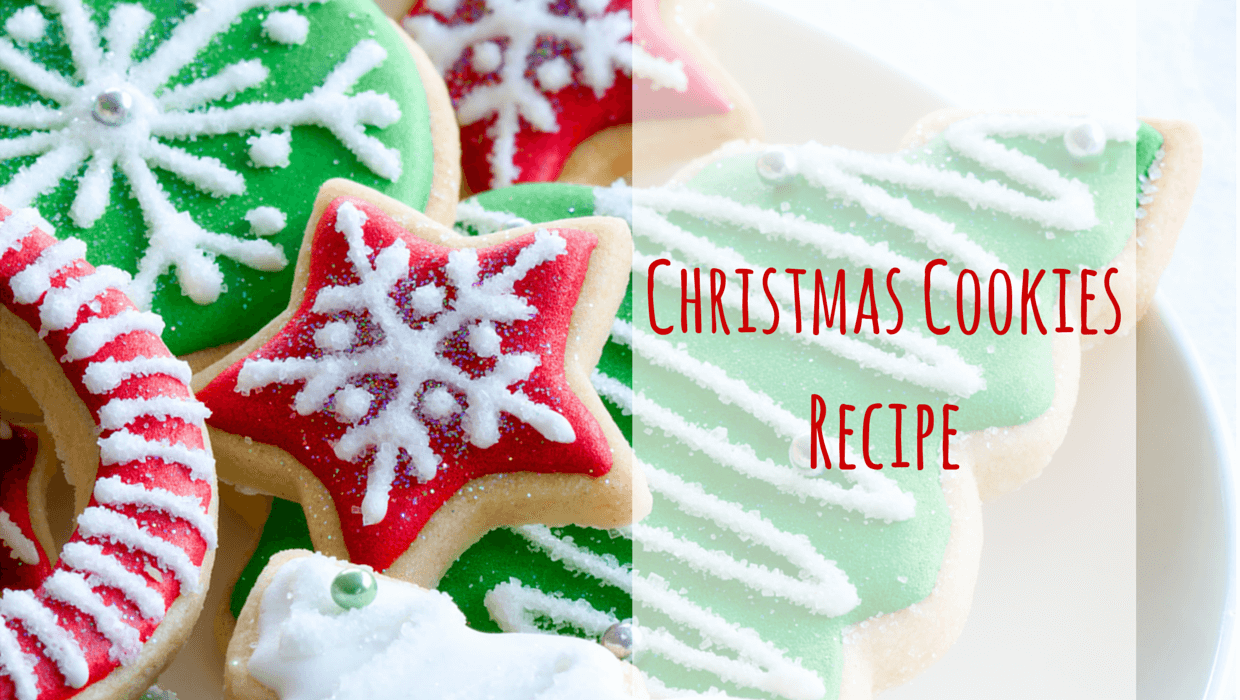 christmas recipes   ... it was the perfect time to share this cute Christmas cookies recipe