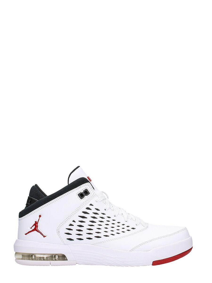 a50e9bbcd39d NIKE JORDAN FLIGHT ORIGIN 4 WHITE FABRIC SNEAKERS.  nike  shoes ...