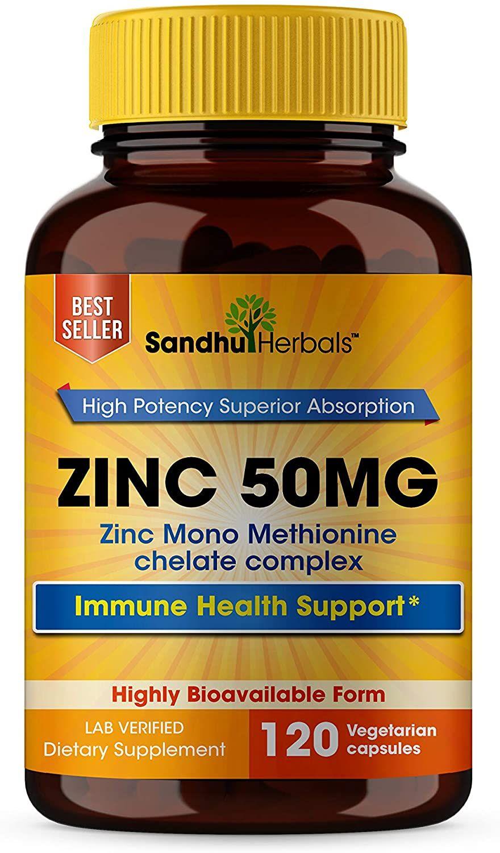 Zinc 50mg Supplement Highly Absorbable Zinc Supplement For Immune Support System Best Zinc Supplem In 2020 Immune Health Zinc Vitamin Zinc Supplements