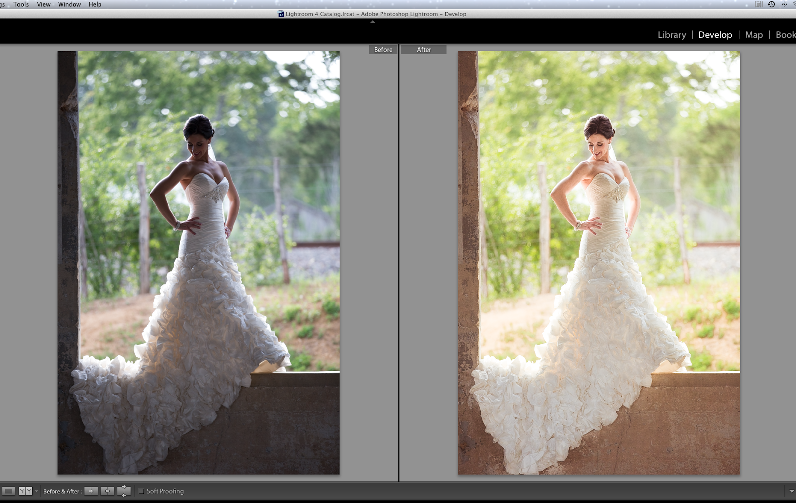 How to make a preset in lightroom