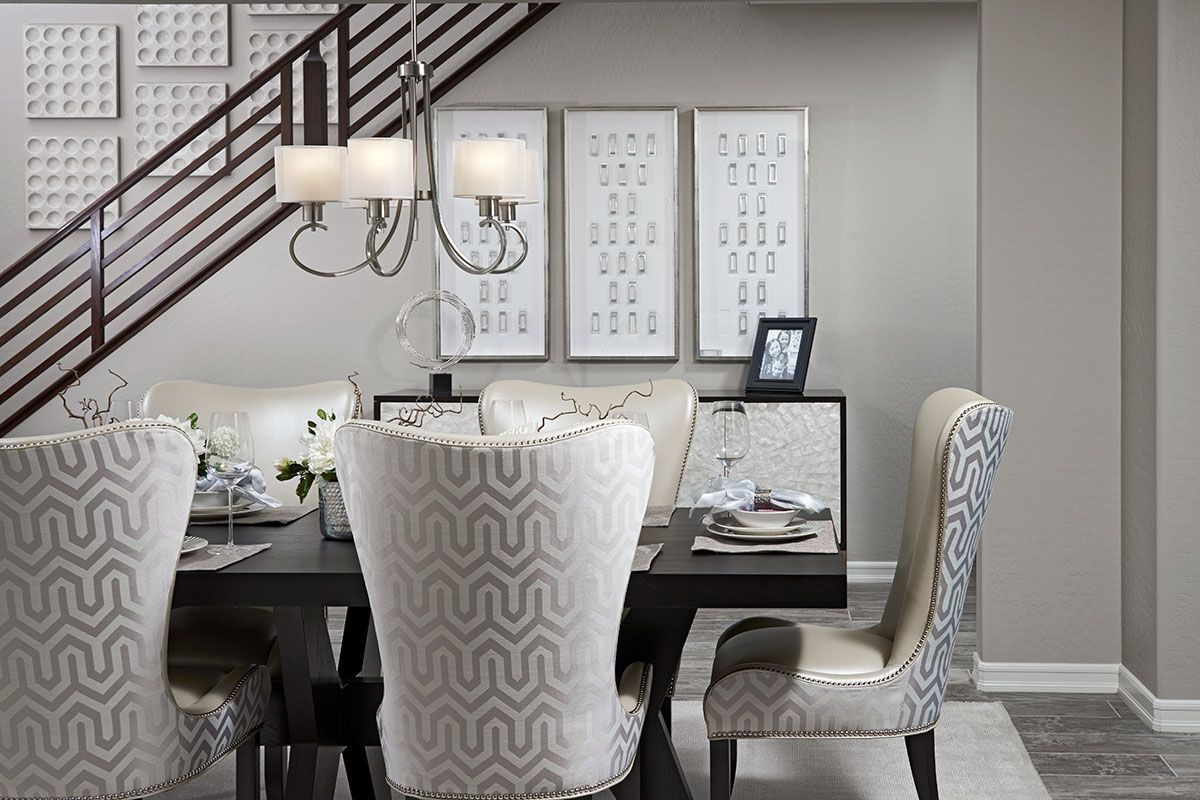 Attractive Upholstered Dining Room Chairs