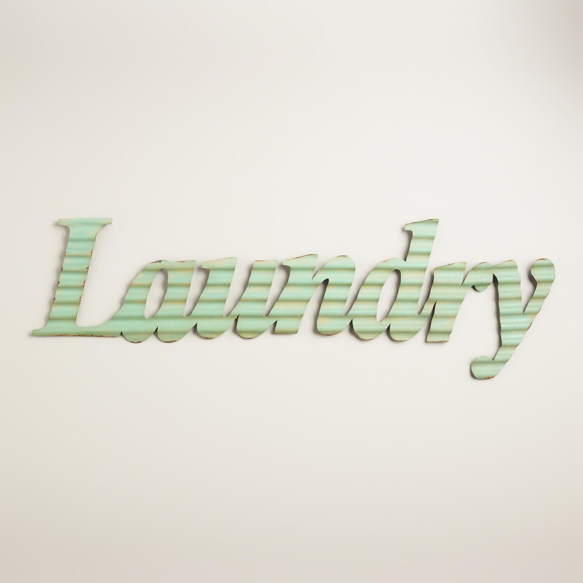 Metal Laundry Sign Give Your Laundry Room A Fresh Look With Our Retro Sign Crafted