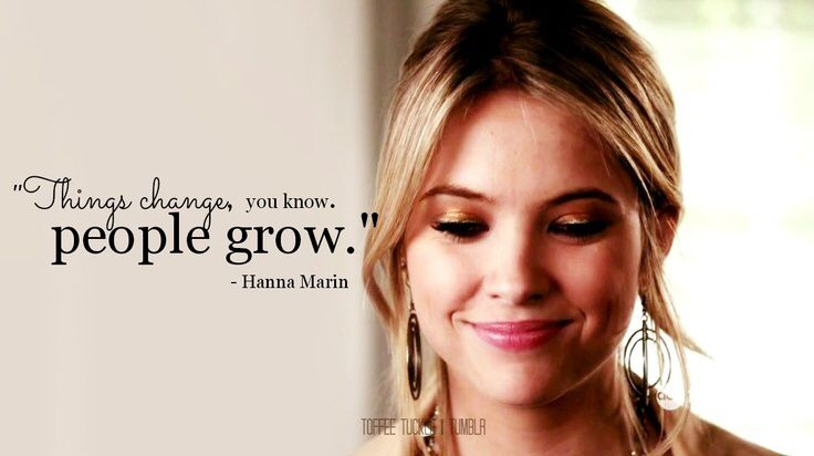 Hanna Marin Quote Pretty Little Liars Quotes Little Liars Pretty Litte Liars