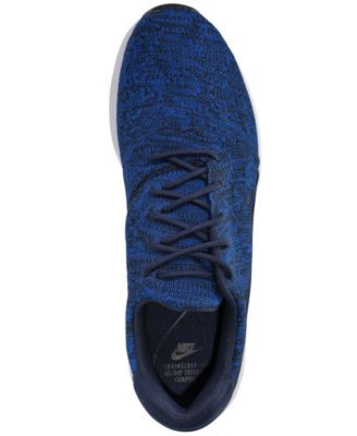 c50ce5a65635 Nike Men s Air Max Modern Flyknit Running Sneakers from Finish Line - Blue 9