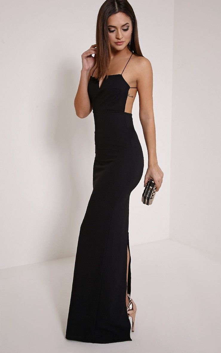 Collection Black Maxi Dress Pictures - Reikian