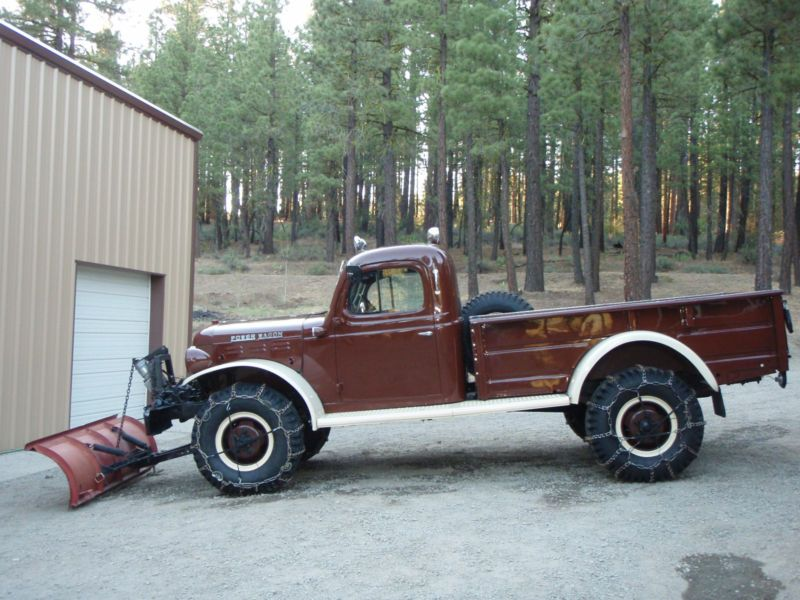 Dodge : Power Wagon 2 Door | Dream Vehicles by Gill Custom Leather ...