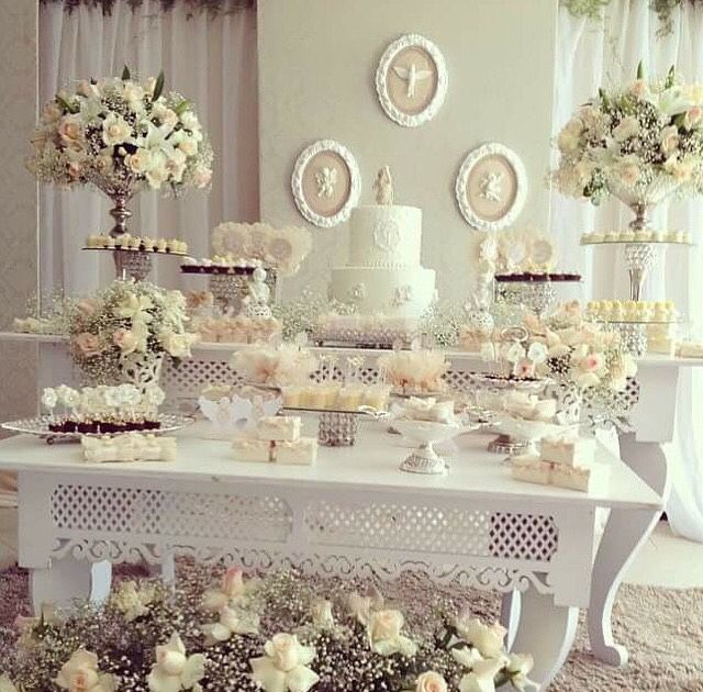 *Idéias para festa de Batizado.  Imagem retirada da Net.