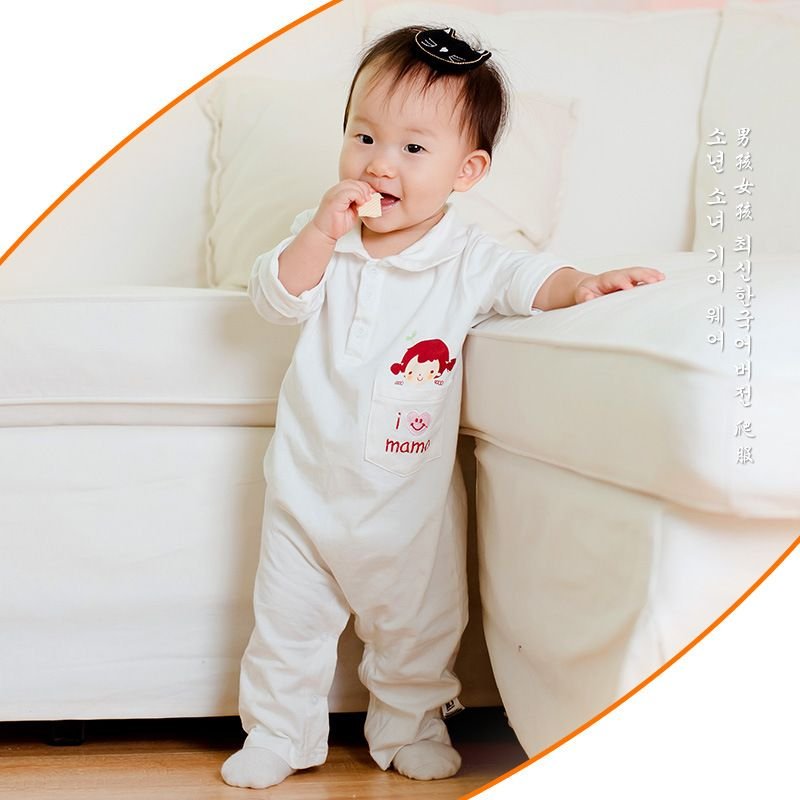 Spring Autumn Baby Boys Clothes Newborn Baby Girl Rompers Soft