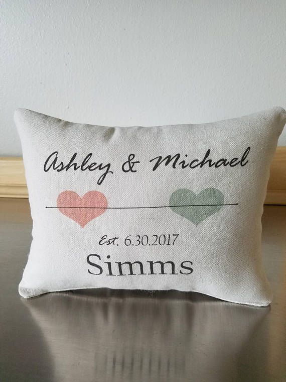 Custom Wedding Pillows Wedding Date Throw Pillow Throw Pillows 2nd Anniversary Gift Cott Traditional Anniversary Gifts Personalised Keepsakes Anniversary Gifts