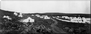 Village after Father Damien built structures