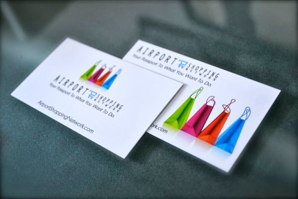 Airport Shopping Network Ron Wave Design Printing Business Cards Cheap Business Cards Digital Business Card