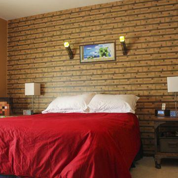Amazing minecraft bedroom decor ideas jugendzimmer mappen und einrichtung - Minecraft schlafzimmer ...