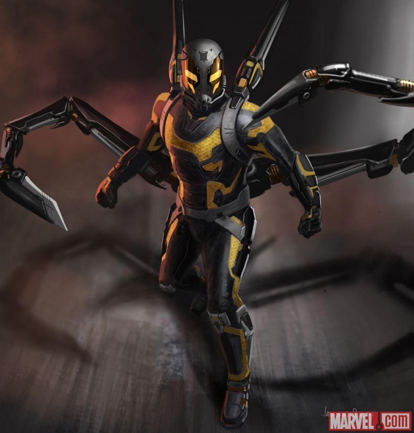 "Concept Artwork by Jackson Sze for Marvel's ""Ant-Man."""