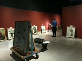 Installation Begins For American Chronicles The Art Of Norman