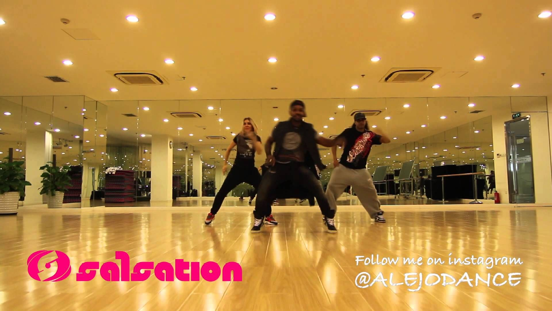 A Basic Salsation Choreography To This Great Song Mixing Some